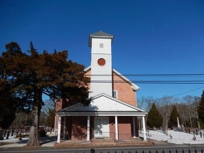 Zion United Methodist Church-Front view image. Click for full size.