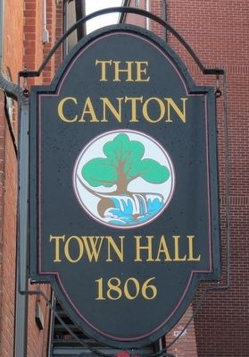 The oak in Canton's town seal image. Click for full size.