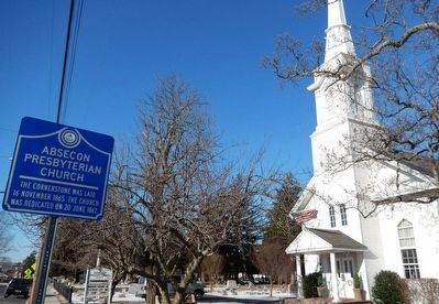 Absecon Presbyterian Church Marker image, Touch for more information