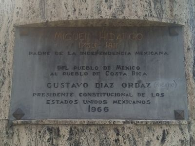 Miguel Hidalgo Marker image. Click for full size.