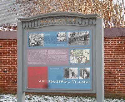 An Industrial Village Marker image. Click for full size.