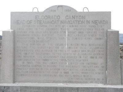 Eldorado Canyon Marker image. Click for full size.