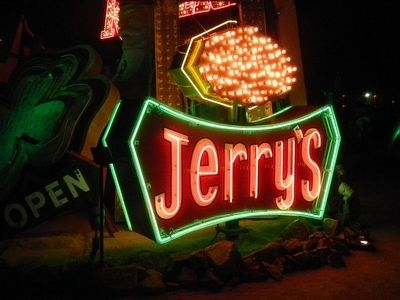 Jerry's Nugget Sign and Marker image. Click for full size.