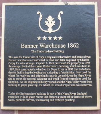Banner Warehouse 1862 Marker image. Click for full size.