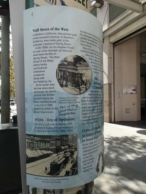 Spring Street Marker image. Click for full size.