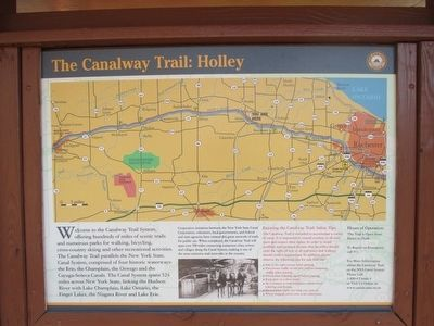 The Canalway Trail: Holley image. Click for full size.