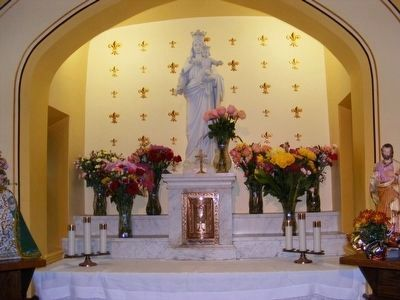 Altar inside the Chapel image. Click for full size.
