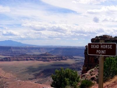 Dead Horse Point Marker image. Click for full size.