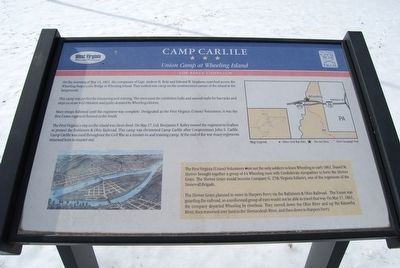 Camp Carlile Marker image. Click for full size.