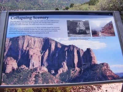 Collapsing Scenery Marker image. Click for full size.