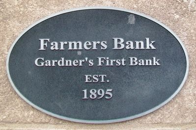 Farmers Bank Marker image. Click for full size.