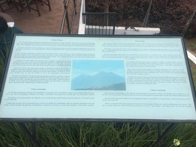 Volcanos Fuego and Acatenango Marker image. Click for full size.