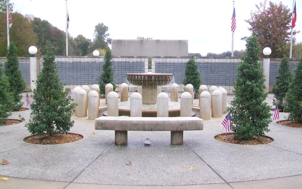 Veterans Wall of Honor Center Courtyard
