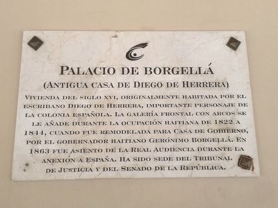 Borgellá's Palace Marker image. Click for full size.