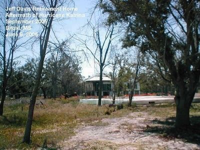 Beauvoir after Hurricane Katrina image. Click for full size.