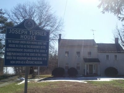 Joseph Turner House Marker image. Click for full size.