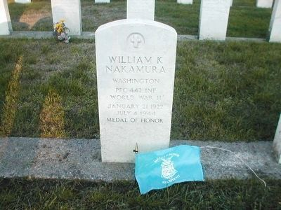 William K. Nakamura, World War II Medal of Honor Recipient image. Click for full size.