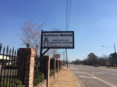 Aliceville Museum across street from marker. image. Click for full size.