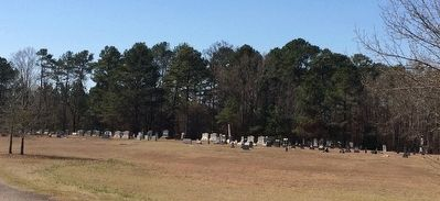 Nearby Pleasant Ridge Presbyterian Church cemetery. image. Click for full size.