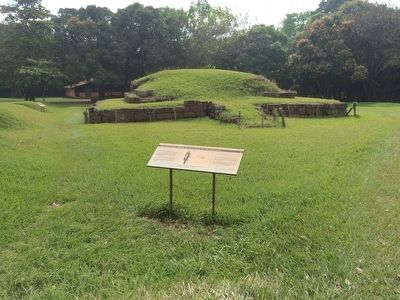 Structure 7 at San Andrés Archaeological Site Marker image. Click for full size.