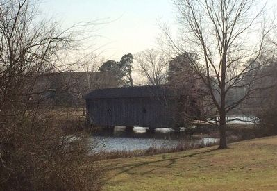 Old Covered Bridge image. Click for full size.