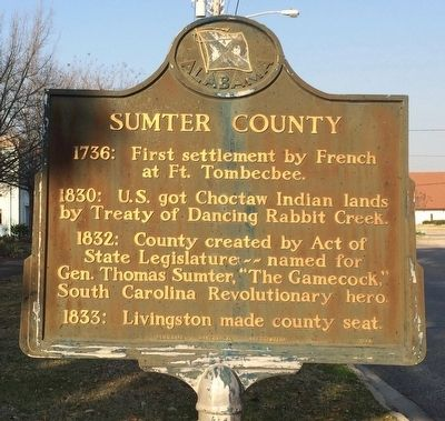 Sumter County Marker image. Click for full size.