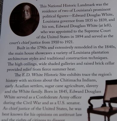 Edward D. White House image. Click for full size.