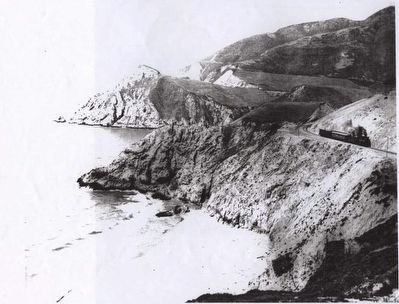 Ocean Shore Railroad image. Click for full size.
