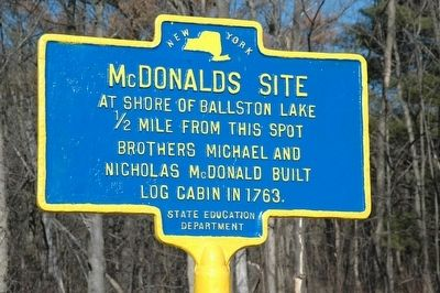McDonalds Site Marker image. Click for full size.