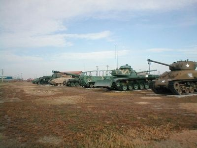 Other military vehicles at the museum image. Click for full size.
