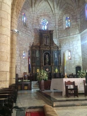 Cathedral of Santo Domingo altar image. Click for full size.