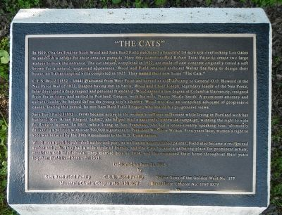"""The Cats"" Marker image. Click for full size."