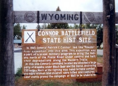 Connor Battlefield State Historic Site Marker image. Click for full size.