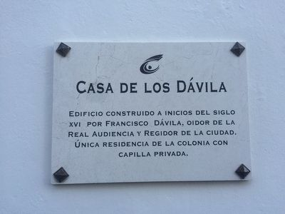 The Dávila House Marker image. Click for full size.