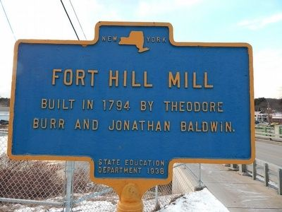 Fort Hill Mill Marker image. Click for full size.