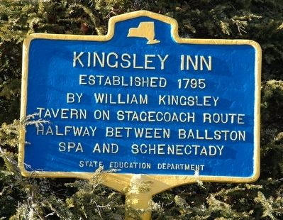 Kingsley Inn Marker image. Click for full size.