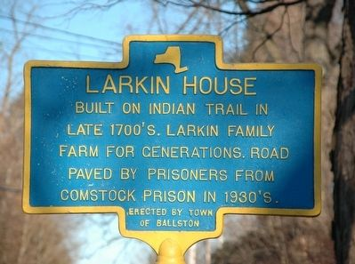 Larkin House Marker image. Click for full size.