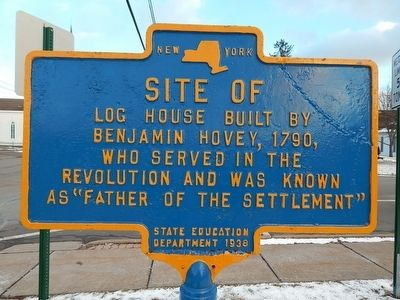 Site of Log House Marker image. Click for full size.