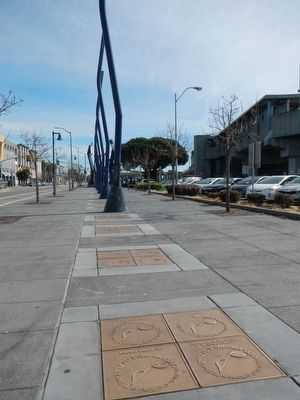 The Oakland Walk of Fame image. Click for full size.