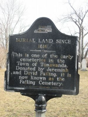 Burial Land Since 1816 Marker image. Click for full size.