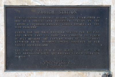 Zurich Station Marker image. Click for full size.