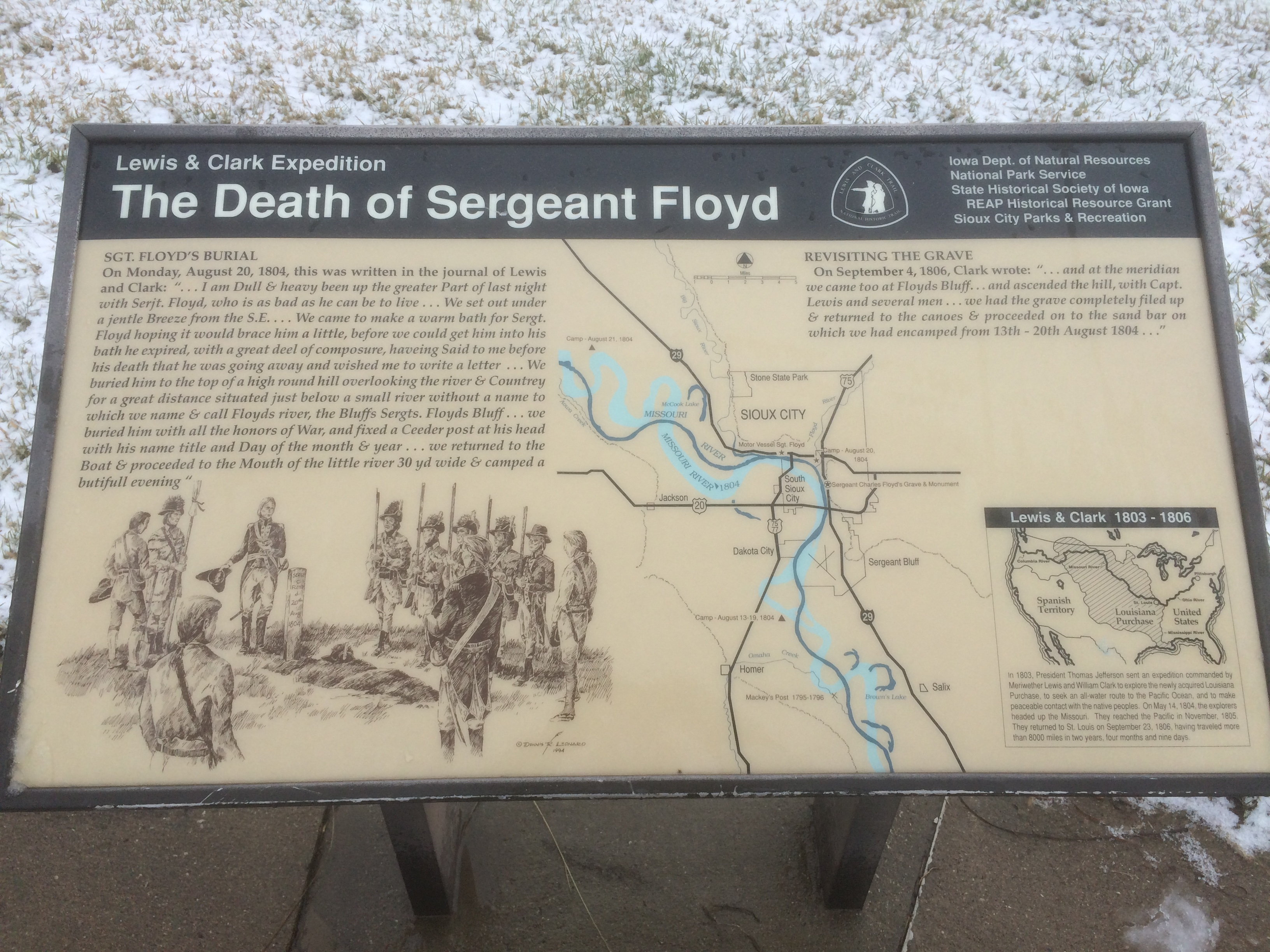 The Death of Sergeant Floyd Marker