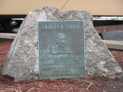 Charles R. Turner Marker image. Click for full size.