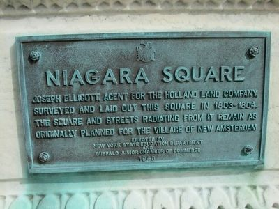 Niagara Square Marker image. Click for full size.