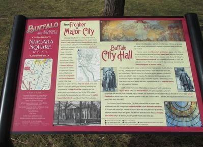 From Frontier to Major City Marker image. Click for full size.