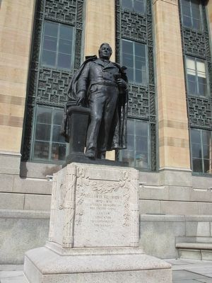 Millard Fillmore Statue image. Click for full size.