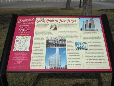From Social Center to Civic Center Marker image. Click for full size.