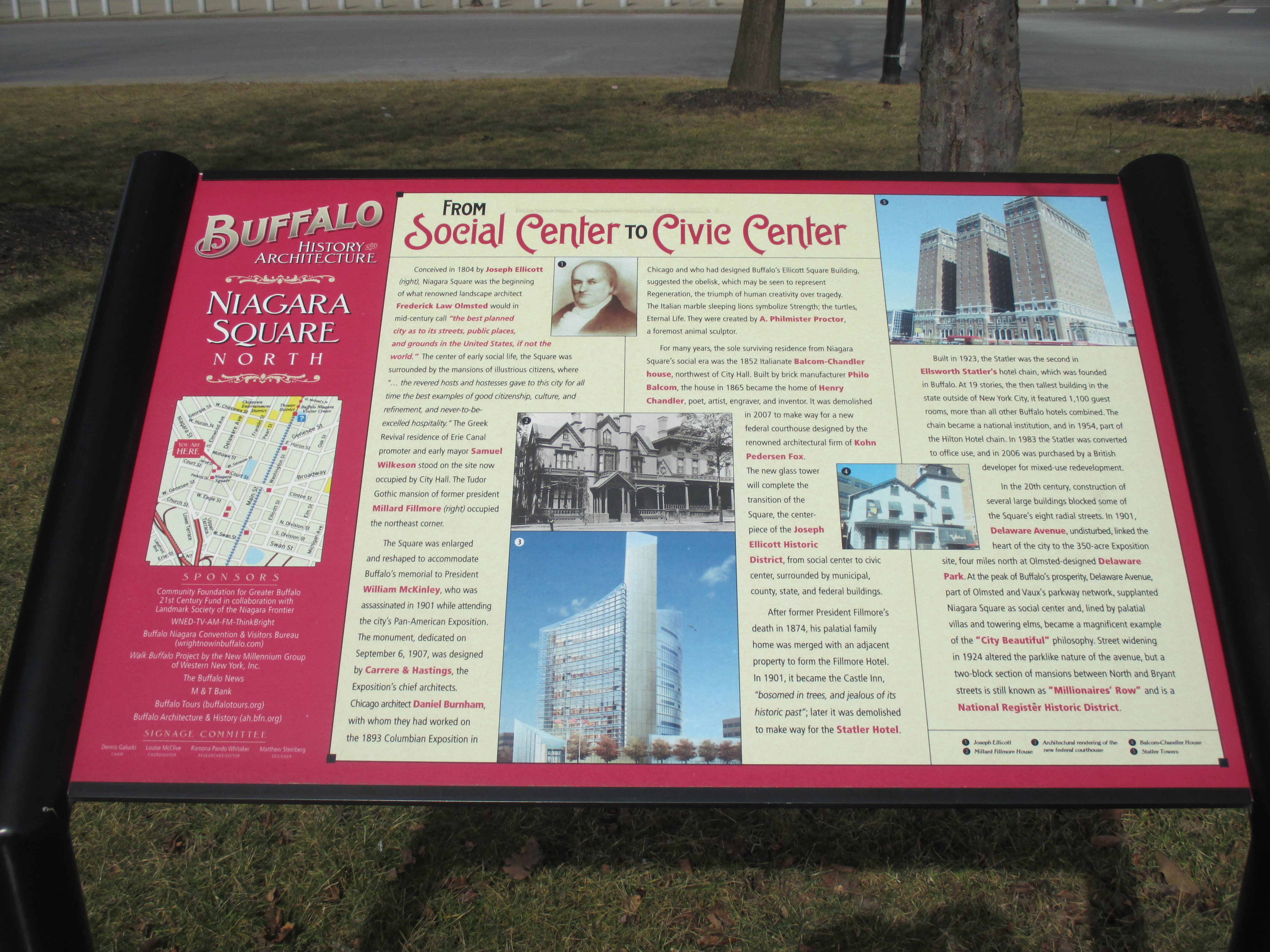 From Social Center to Civic Center Marker