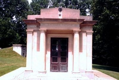 Zachary Taylor Mausoleum image. Click for full size.