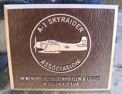 A-1 Skyraider Association Marker image. Click for full size.